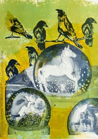 blaugruen, Lichtdruck von Christiane Werner